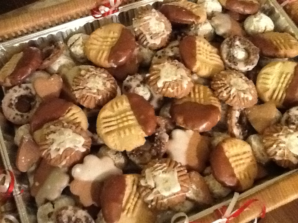 Italian Cookies for Francis' son's wedding party